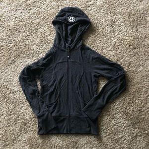 Gray lululemon Scuba Jacket